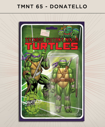 Teenage Mutant Ninja Turtles 65 - Donatello Action Figure Cover