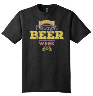 Official Craft Beer Week Mens T-Shirt