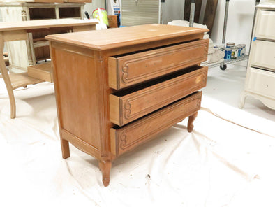 Vintage French Blue Dresser - The Process