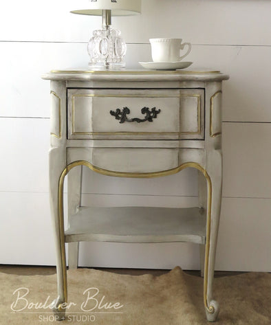 Painting French Provincial Nightstands