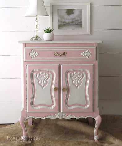 Pretty in Pink - French Cabinet
