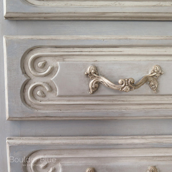 French dresser close up