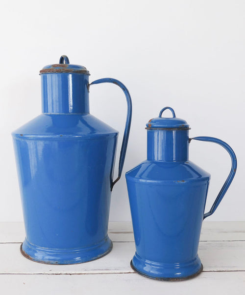 Hungarian enamelware pitchers