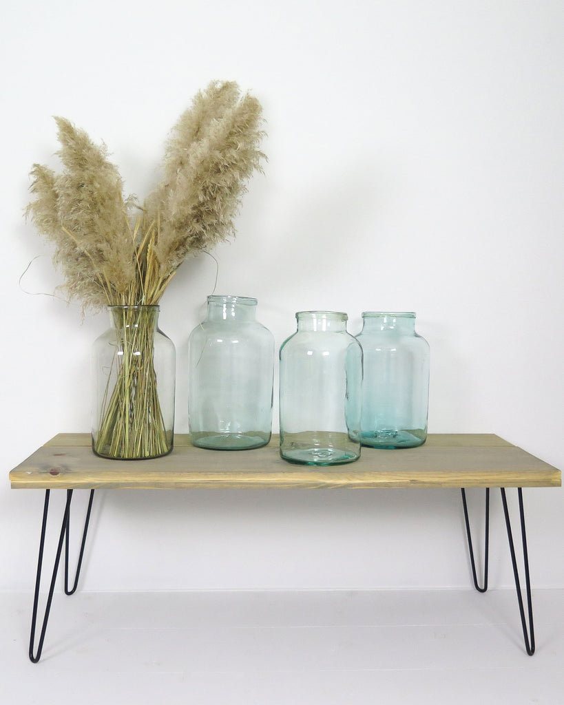 vintage glass jars