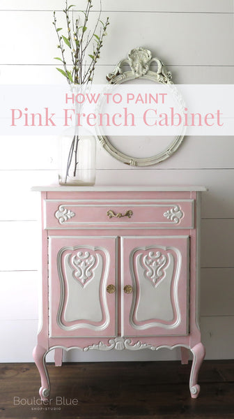 Pink French Cabinet pin it