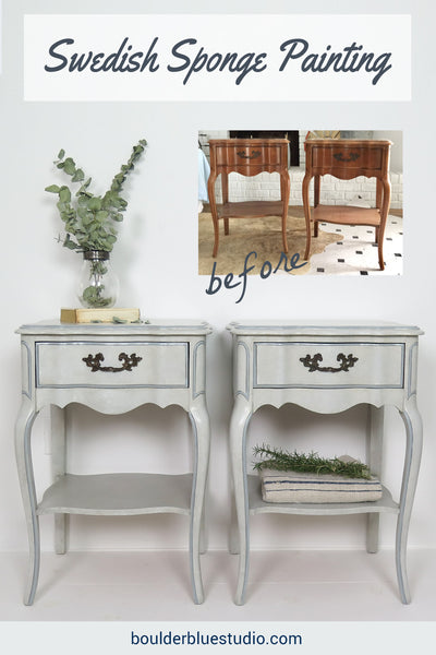Pin It French Provincial Nightstands
