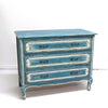 Vintage Painted French Commode Chest