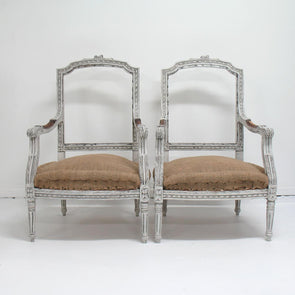 Antique Swedish  Gustavian Style Chairs