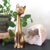 Solid Brass Siamese Cat