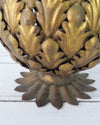 Vintage Brass Pineapple top