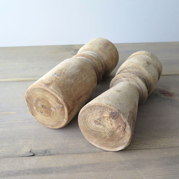 Reclaimed Wood Candle Holders bottom
