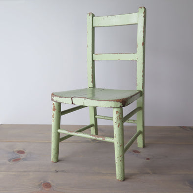 vintage childs chair