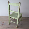 vintage childs chair back