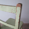 vintage childs chair closeup