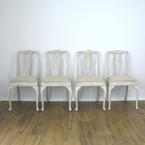 Painted Dining Chairs Set of 4