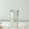 Small Clear Demijohn Bottle close up