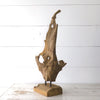 Driftwood Sculpture on Stand