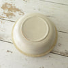 Antique Cream Mixing Bowl  bottom