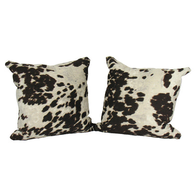 Faux Cow Hide Pillows