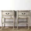 French Provincial Nightstands a Pair
