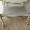 French Provincial Nightstands close up shelf
