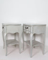 French Provincial Nightstands side view