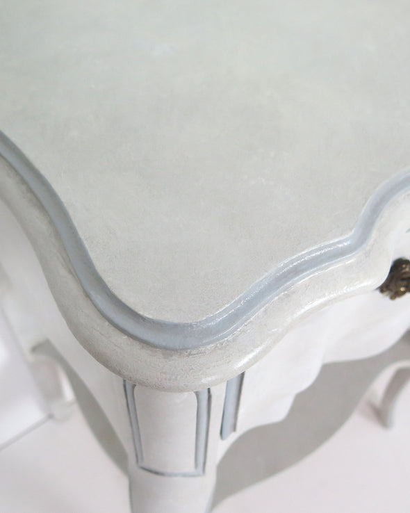French Provincial Nightstands close up