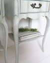 French Provincial Nightstands shelf