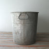 Vintage Galvanized Tub side view
