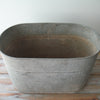 Vintage Galvanized Tub