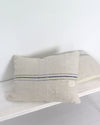 Antique Grain Sack Pillow Covers 20 x 26