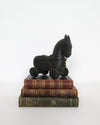 Wooden Horse Spice Box