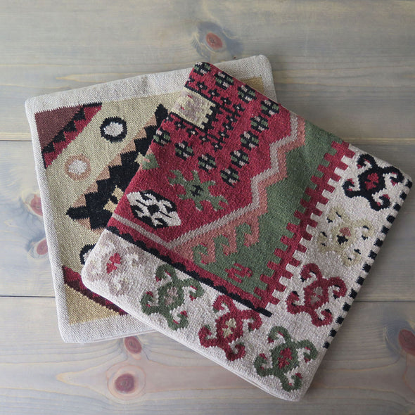 Vintage Pottery Barn Kilim Pillow Covers