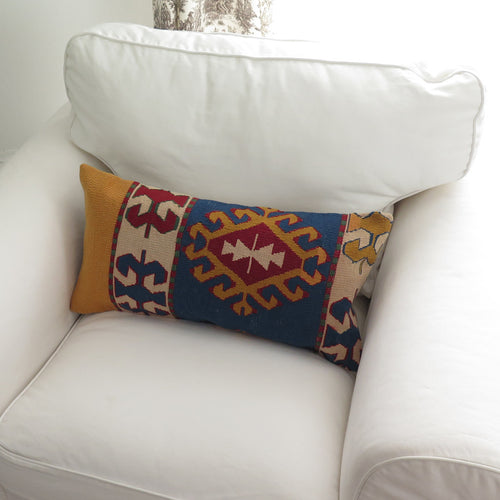 Vintage Turkish Lumbar Pillow