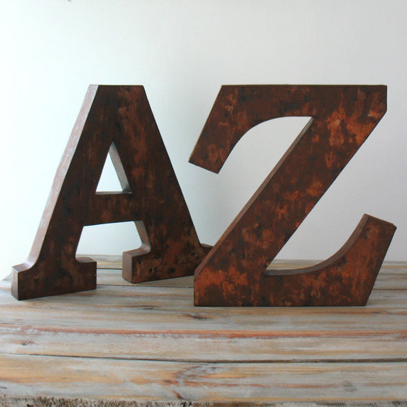 Metal Marquee Letters