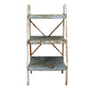 Vintage Industrial Metal Shelving Unit