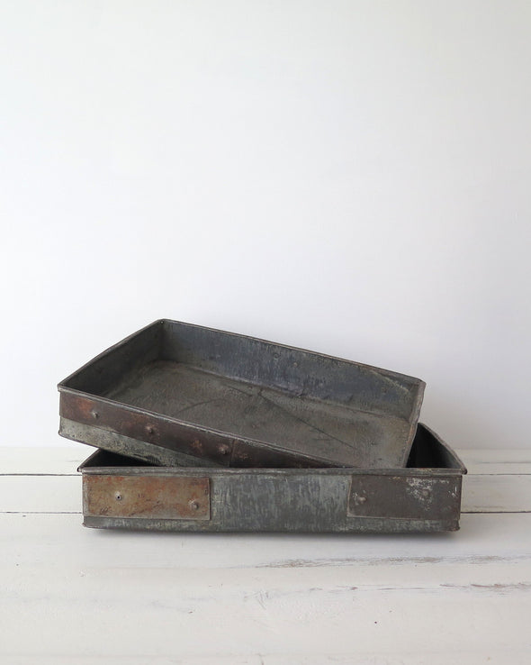 Reclaimed Metal Trays