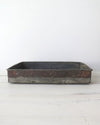 Reclaimed Metal Tray