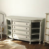 Painted Buffet/Server with Lions Feet