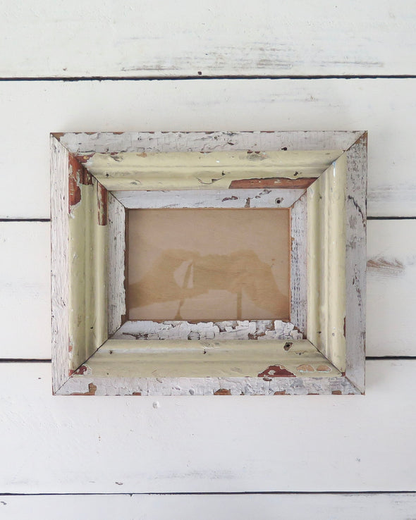 Rustic Reclaimed Wood Photo Frame, 5 x 7