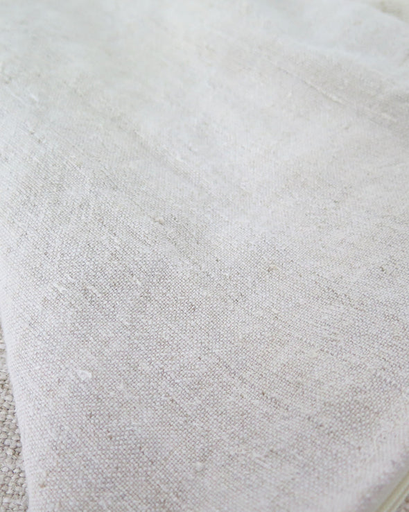 antique linen backing