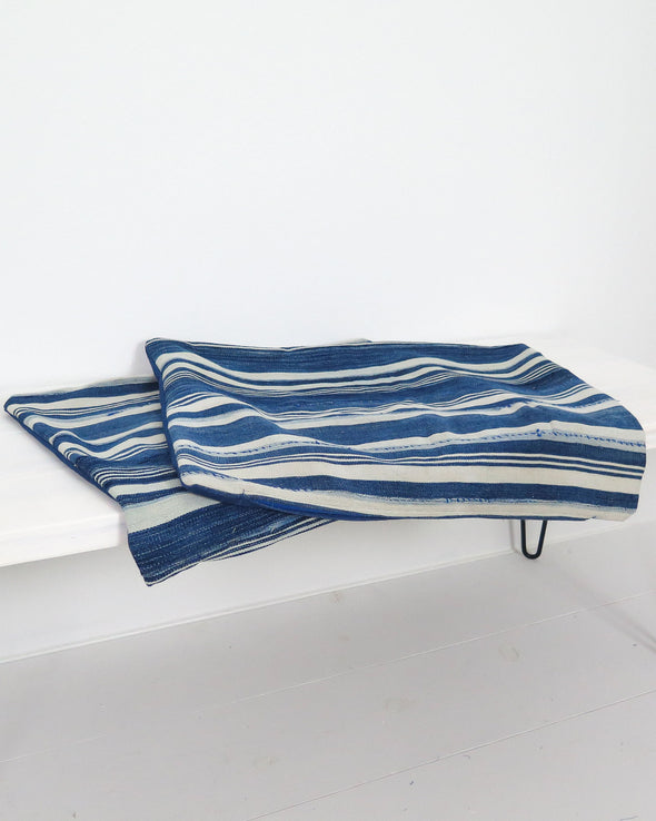 Vintage Burkina Faso Striped Pillow  Covers