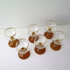German Roemer Wine Glasses, Set of 6