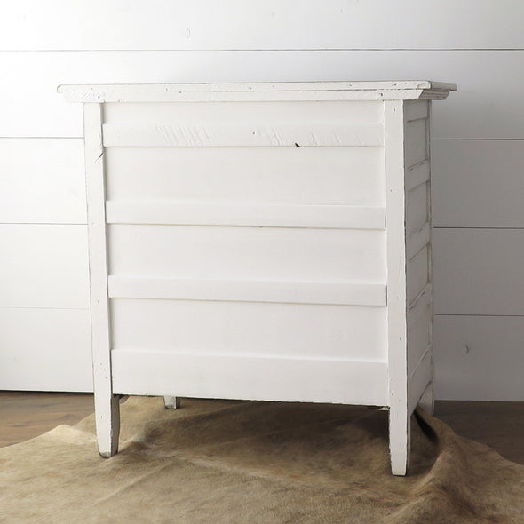 Antique Painted Chest back
