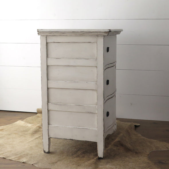 Antique Painted Chest side