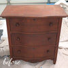 Antique Painted Chest before