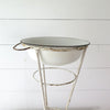 Vintage Hungarian Wash Stand close up