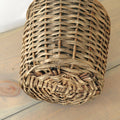 Vintage Wicker Demijohn bottom