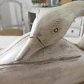 Painted Wood Swan