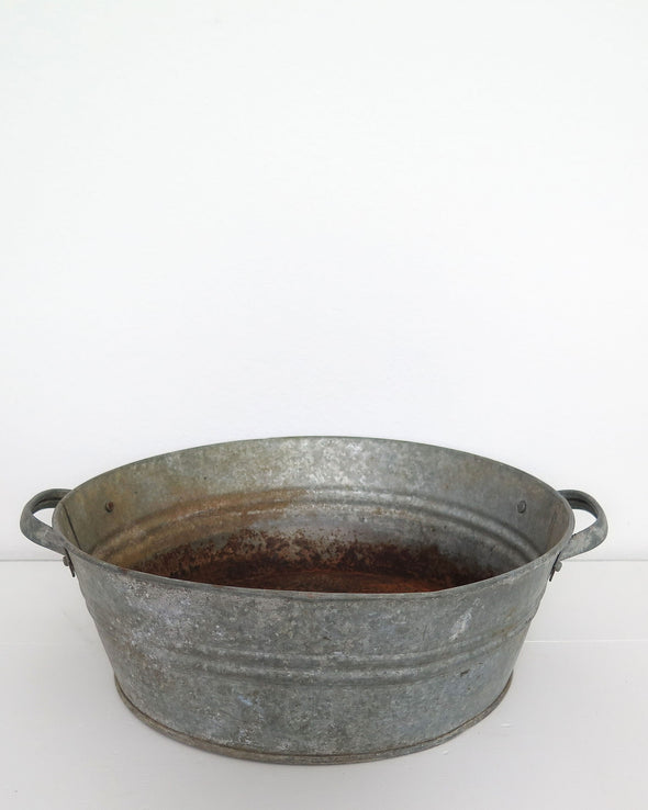 Galvanized zinc Tub